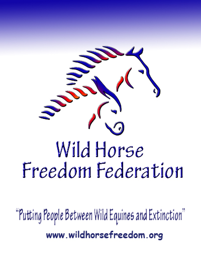 Wild Horse Freedom Federation banner